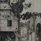 Albrecht Dürer, Sacra Famiglia, Incisione a bulino, 122 x 155 mm | Courtesy © Musei Civici di Bassano