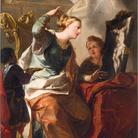 Antonio Bellucci, Vocazione di santa Rosalia, 1706, Olio su tela, 127 x 164 cm