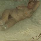 Vincent van Gogh, Nudo disteso, Inizio 1887, Otterlo Museum