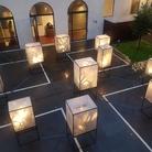 Ologrammi gotici. Installazione di Sàndor Vály