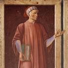 Andrea del Castagno (Castagno, 1421 - Firenze, 1457), Dante Alighieri, 1448-1449, Affresco strappato e applicato su tela, 250 x 150 cm Firenze, Gallerie degli Uffizi