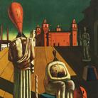 Giorgio de Chirico, Le muse inquietanti, Fine anni cinquanta, Olio su tela, 66 x 97 cm, Collezione Roberto Casamonti, Firenze | Courtesy of Tornabuoni Arte, Firenze