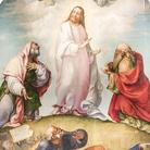 Lorenzo Lotto (Venezia, 1480 - Loreto, 1556/1557), Trasfigurazione, 1511-1512, Olio su tavola, 302 x 212 cm, Recanati, Museo Civico Villa Colloredo Mels