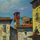 Giuseppe Landi. Lucca en plain air