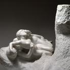 Auguste Rodin, Paolo e Francesca, marmo, post 1900, 81 x 108 x 65 cm