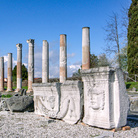 Ciclo di Giove Ammone e Medusa presso il Foro, Area archeologica di Aquileia   Foto: © Gianluca Baronchelli