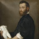 Giovan Battista Moroni, Alessandro Vittoria, 1551 circa, Olio su tela, 65 x 82.5 cm, Gemäldegalerie, Kunsthistorisches Museum, Vienna | Foto: KHM-Museumsverband