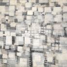 Tancredi Parmeggiani, (Senza titolo) Città, 1954, Tecnica mista su tela, 195.5 x 178 cm, Mart, Museo di arte moderna e contemporanea di Trento e Rovereto | Collezione Domenico Talamoni