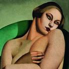 Tamara de Lempicka, Nudo appoggiato I, 1925. Olio su tela, 81x54,3 cm. Collezione privata europea. © Tamara Art Heritage. Licensed by MMI NYC/ ADAGP Paris/ SIAE Roma 2015