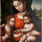 Madonna con il Bambino e San Giovannino di Innocenzo Francucci da Imola - Bologna