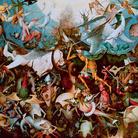 The Devil, pp. 104-105, (Particolare), Pieter Bruegel il Vecchio, La caduta degli angeli ribelli, 1562, Olio su tavola, 162 x 117 cm, Bruxelles, Musées Royaux de Beaux-Arts
