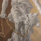 Giandomenico Tiepolo, Ercole con Cerbero incatenato, (Particolare)