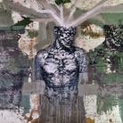 Tarik Berber, Dalla serie Pop is not dead, Enea, Tecnica mista su tela, 160 x 120 cm, London/Zadar, 2018 | Courtesy Tarik Berber e Fondazione Maimeri 2019 | © Tarik Berber