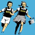 Metti una sera Banksy e Raffaello
