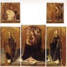 Antonello da Messina, Polittico di San Gregorio, 1473. Provenienza: Messina, Monastero di Santa Maria extra moenia. Messina, Museo Regionale