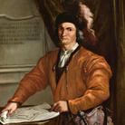 Giovanni Antonio Burrini (Bologna 1656 - 1727), Ritratto di Cavazzocco Albergati, Olio su tela, Provenienza: Villa Albergati, Zola Predosa, 2014