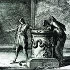 Giovanni Battista Piranesi, Interno dell'antico Tempio di Bacco, oggi Chiesa di S. Urbano, da Vedute di Roma, 1745-1778 | Courtesy of Museo di Roma