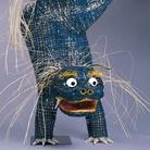 Leone Cinese in vimini, dalla Shin Higoya Library (riproduzione) | Courtesy of Nagoya City Museum