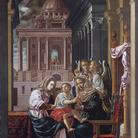 S. Anna e Maria con bambino. Ritorna in Cattedrale la grande tela di Francesco da Martina