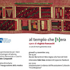 Al Tempio che (H)era. Opere di Virginia Franceschi