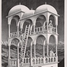 Maurits Cornelis Escher. Escher, Chiostro del Bramante, Roma