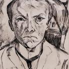 Tra gli artisti messi all'indice dal regime naziata anche Max Beckmann, Autoritratto frontale con frontone di casa nello sfondo, 1918 | Foto: Sailko (Own work), via Wikimedia Creative Commons