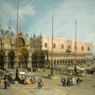 Antonio Canal detto Canaletto, Piazza San Marco verso Est, Olio su tela, 153 x 115 cm, Washington, National Gallery of Art