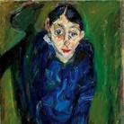 Chaïm Soutine (Smilovitchi, 1893 − Paris,1943), La Folle, 1919 circa, Olio su tela, 65.1 x 87 cm, Collezione Jonas Netter