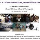 L'Europa per la cultura: innovazione, sostenibilità e competenze