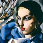 Tamara de Lempicka, La sciarpa blu, 1930, Olio su tavola, 48 x56.5 cm, Collezione privata | Courtesy of Musei San Domenico, Forlì, 2017