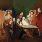 Francisco de Goya y Lucientes, La famiglia dell'infante don Luìs, 1783-1784, Olio su tela | Courtesy of Fondazione Magnani-Rocca 2020