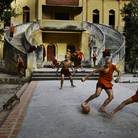 Football & Icons. Steve McCurry