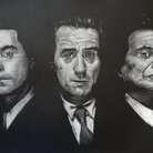 """Il cinema di Martin Scorsese nei disegni """"noir"""" di Paco"""
