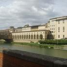A Firenze cede il pavimento del Corridoio Vasariano e chiude l'ingresso dagli Uffizi
