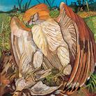 Antonio Ligabue, Aquila con colombo, 1960-1961, Olio su tela, 100 x 70 cm