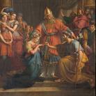 Jean-Baptiste Wicar, Sposalizio della Vergine, 1825, Olio su tela, 275 × 187 cm, Perugia, Cattedrale di San Lorenzo