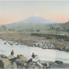 Linda Fregni Nagler, Fuji from Omiya, 2018 | Stampa su gelatina d'argento colorata a mano