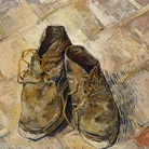 Vincent van Gogh, Scarpe, 1888, Olio su tela, 55.2 x 45.7 cm, Metropolitan Museum, New York