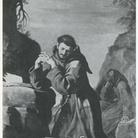 San Francesco che adora il Crocifisso