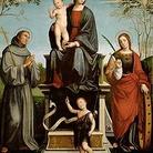 Madonna col Bambino e Santi e Pietà