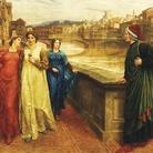 Henry Holiday, Dante incontra Beatrice al ponte Santa Trinita, 1883.