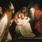 Tiziano Vecellio. Pala della Madonna con Bambino tra i santi Tiziano e Andrea e un accolito
