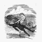 La Sirenetta ed il principe, Illustrazione di Bertall (1820-1882)