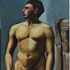 Tamara de Lempicka, Nu masculin, 1923/1924. Olio su tela, 105x75 cm. Collection Yves et Françoise Plantin © Tamara Art Heritage. Licensed by MMI NYC/ ADAGP Paris/ SIAE Roma 2015