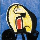 Joan Miró, Senza Titolo, n.d., olio, acrilico, carboncino e gesso su tela, 99,8 x 80,5 cm