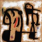 Joan Miró, Senza Titolo, 1978,  Olio su compensato, 64 x 64 cm