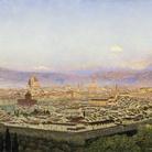 John Brett (1831-1902), Veduta di Firenze da Bellosguardo, 1863, Olio su tela, 101.3 x 60 cm, Tate, Presented by Thomas Stainton in memory of Charles and Lavinia Handley-Read 1972 | © Tate, London 2019
