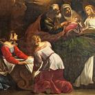 Giacinto Brandi. La nascita della Vergine/ Il transito della Vergine