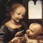 Leonardo da Vinci. Madonna Benois