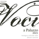 Voci a Palazzo 2021